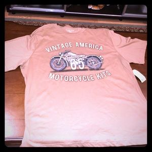 Brand new with tags Puritan motorcycle shirt